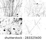 grunge sketch effect texture... | Shutterstock .eps vector #283325600
