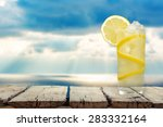 lemonade  refreshment  cold... | Shutterstock . vector #283332164