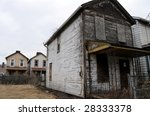 Shuttered And Rotten  A House...