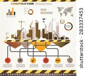 building and construction... | Shutterstock .eps vector #283337453