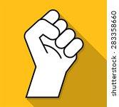 Fist Revolution Symbol  Vector