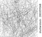 grunge scribble overlay texture.... | Shutterstock .eps vector #283359368