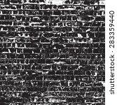 brick wall overlay texture  ... | Shutterstock .eps vector #283359440