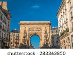 Porte Saint Denis Arch In Pari...