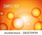 orange abstract background | Shutterstock .eps vector #283370939
