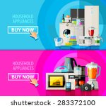 appliances vector logo design... | Shutterstock .eps vector #283372100