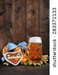 original bavarian oktoberfest...   Shutterstock . vector #283372133