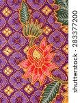 batik design in malaysian... | Shutterstock . vector #283377200