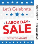 let's celebrate with a labor... | Shutterstock .eps vector #283389209
