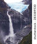 Hanging Glacier  Queulat...