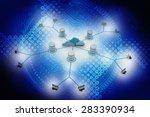 computer network   Shutterstock . vector #283390934