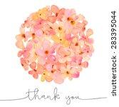 Watercolour Hydrangea Ball Wit...