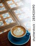 latte | Shutterstock . vector #283420490