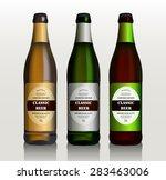 vector green  red  yellow beer... | Shutterstock .eps vector #283463006