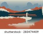 eps8 editable vector... | Shutterstock .eps vector #283474409