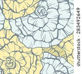 seamless pattern with... | Shutterstock . vector #283492649