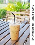 ice cappuccino coffee | Shutterstock . vector #283514249