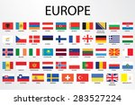 flags of the world set... | Shutterstock . vector #283527224