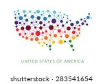 dotted texture usa vector...