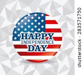 independence day design over... | Shutterstock .eps vector #283571750