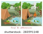 find ten differences | Shutterstock . vector #283591148