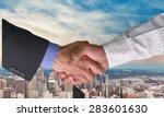 handshake  business  trust.