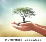 community service concept ... | Shutterstock . vector #283612118