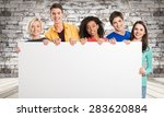 group  sign  blank. | Shutterstock . vector #283620884