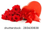 heart shaped valentines day... | Shutterstock . vector #283630838