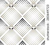 geometric pattern in a diamond... | Shutterstock .eps vector #283649723