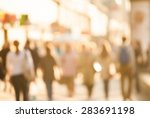 city commuters. high key... | Shutterstock .eps vector #283691198