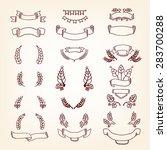 ribbon banner   for decoration  ... | Shutterstock .eps vector #283700288