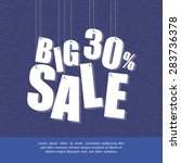 abstract big sale background... | Shutterstock .eps vector #283736378