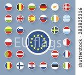 vector set of european union...   Shutterstock .eps vector #283825316