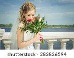 bride  wedding | Shutterstock . vector #283826594