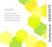 vector background hexagon . | Shutterstock .eps vector #283835570