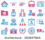 medical icon set. style ... | Shutterstock . vector #283847864