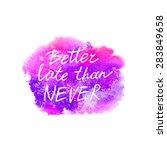 conceptual handwritten phrase... | Shutterstock .eps vector #283849658