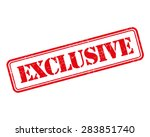 exclusive grunge retro isolated ... | Shutterstock .eps vector #283851740