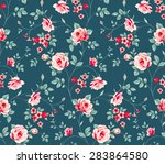 raster version. seamless... | Shutterstock . vector #283864580