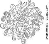 Doodles  Zentangle  Vector ...