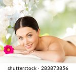 people  beauty  spa and body... | Shutterstock . vector #283873856