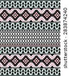 ethnic pattern | Shutterstock .eps vector #283874240