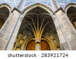 fine details of the exterior of ... | Shutterstock . vector #283921724