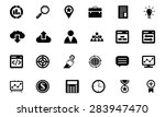 seo and marketing vector icons 1 | Shutterstock .eps vector #283947470