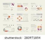 set of business data...   Shutterstock .eps vector #283971854
