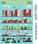 urban designer landscapes of... | Shutterstock . vector #283979909
