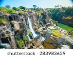 The Big Pongour Waterfall Near...