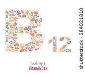 Foods Highest In Vitamin B12...