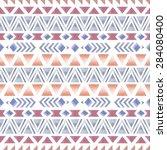 ethnic seamless pattern.  aztec ... | Shutterstock .eps vector #284080400